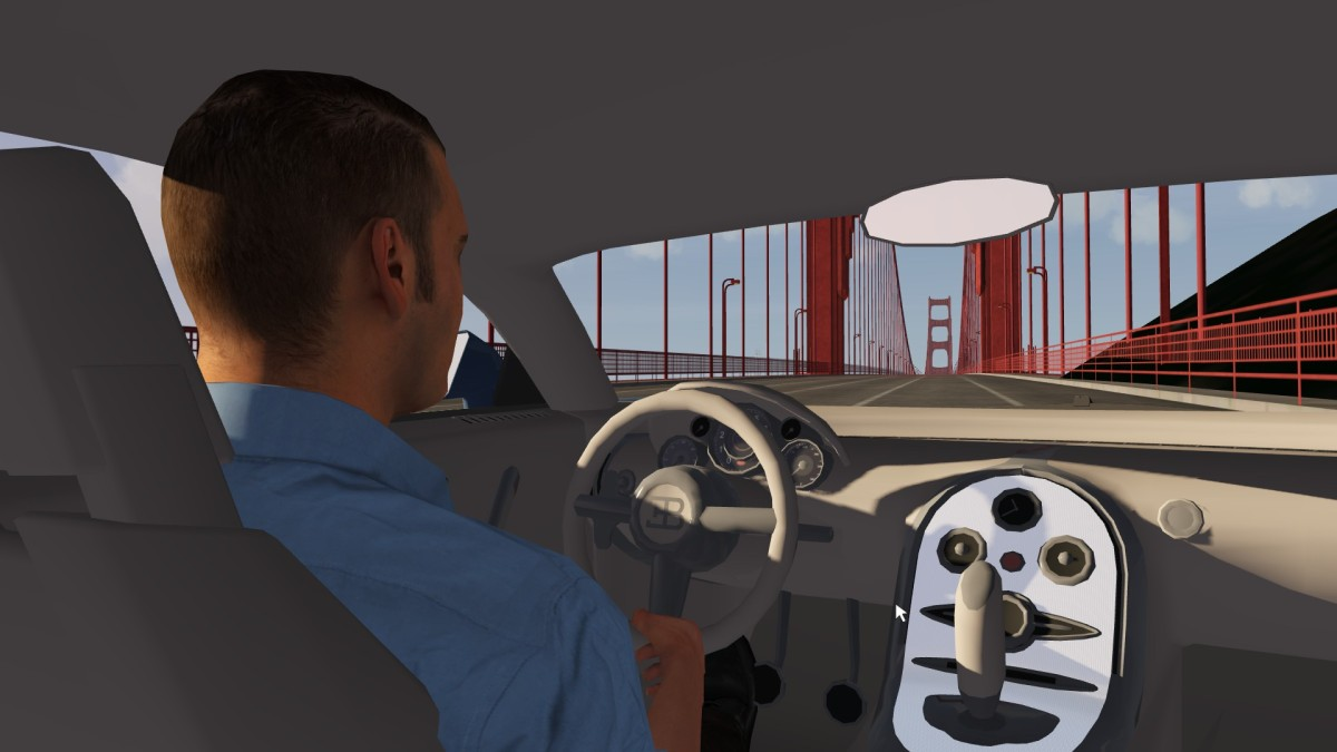 Driving in San Francisco