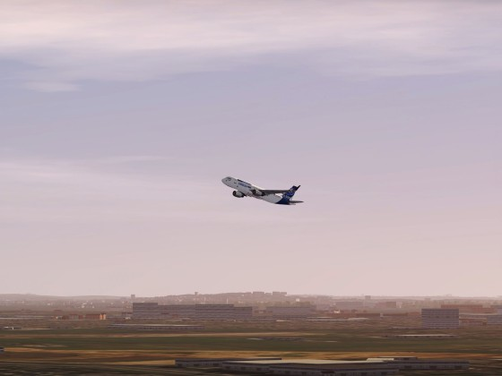 A320 Prototype 1 Takeoff from London