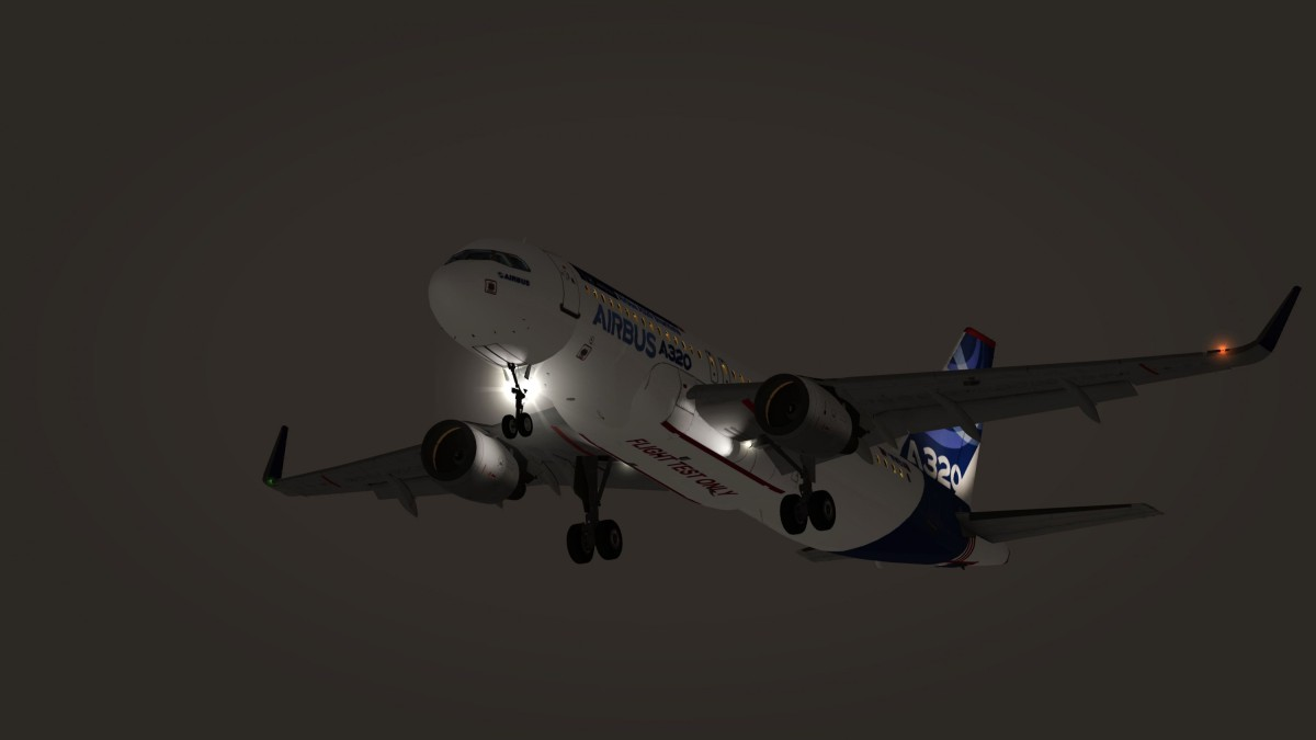 A320 Landing in Salt Lake intl performing tests in Cold Weather