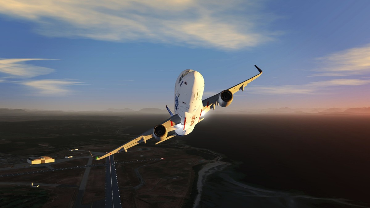 Takeoff from CANADA