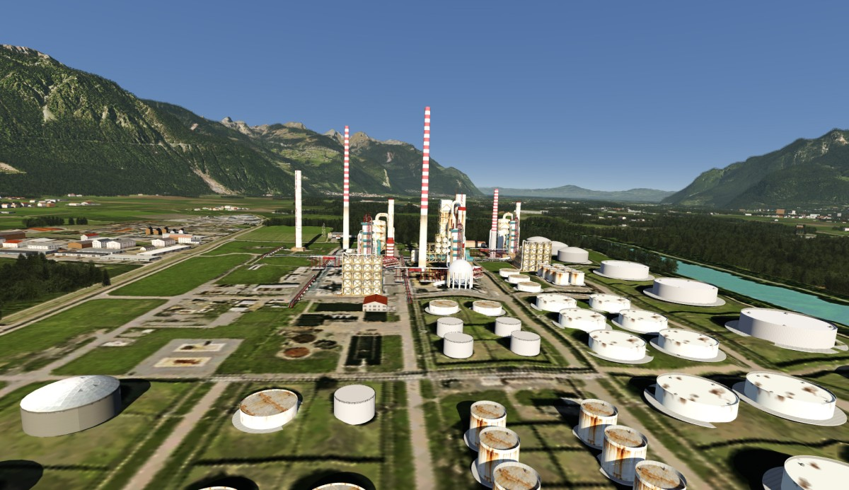 Refinery Collombey