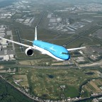 B777 airborned from Shiphol-EHAM