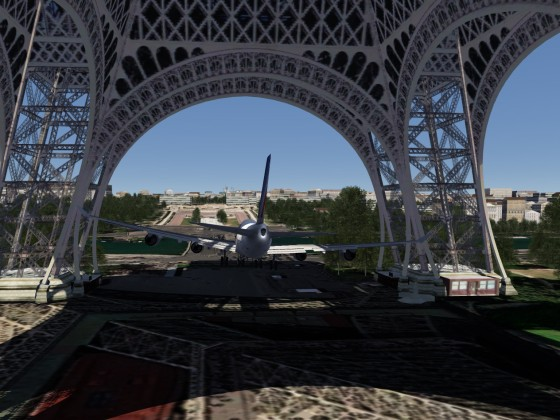 Eiffel Tower - 747-400