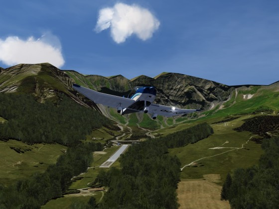 DR over French Alps 2