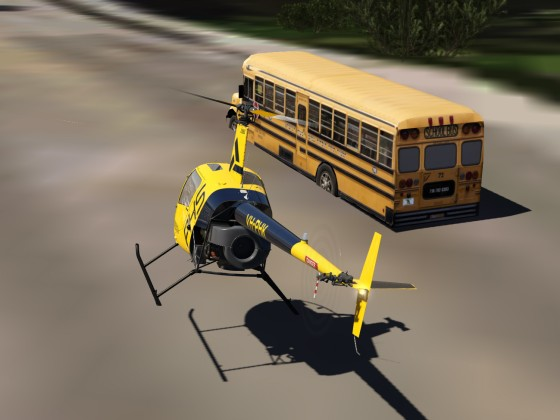 School Bus Chasing