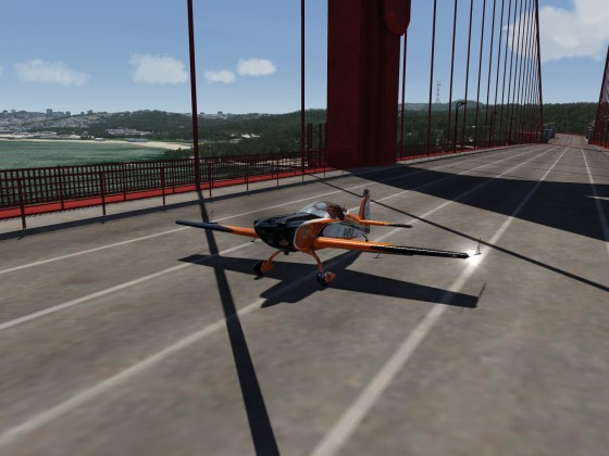 Extra 330 LX @ Golden Gate Bridge