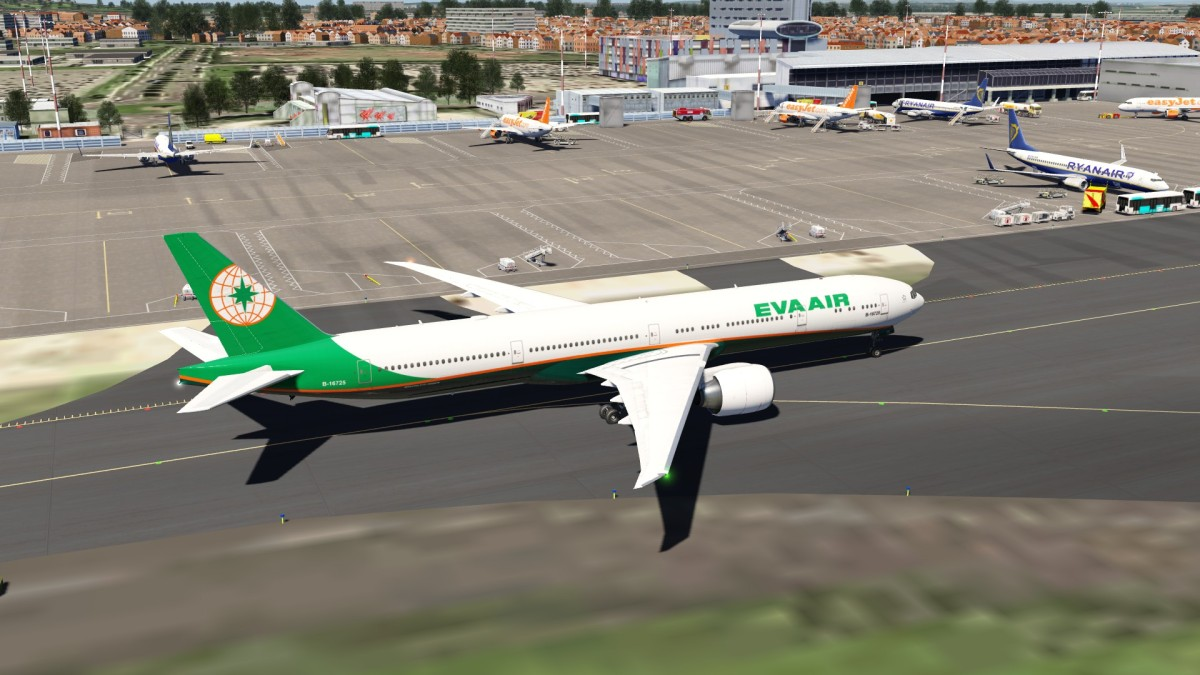 Tripler Eva Air at Liverpool
