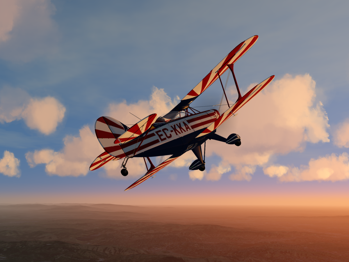Pitts at sunset