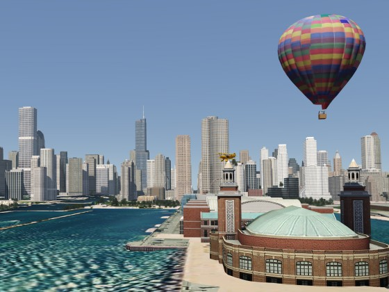 Chicago - Hot Air Baloon