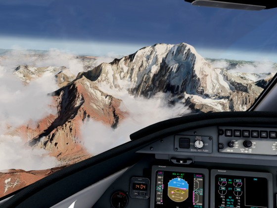 Cruising Andes Elevation Mesh