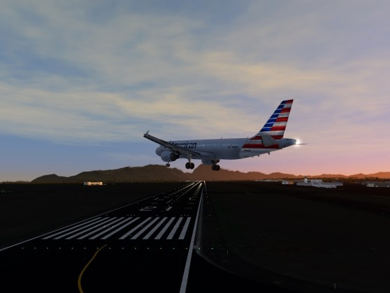 US - Hawaiian Islands - Airport Lihue - A320