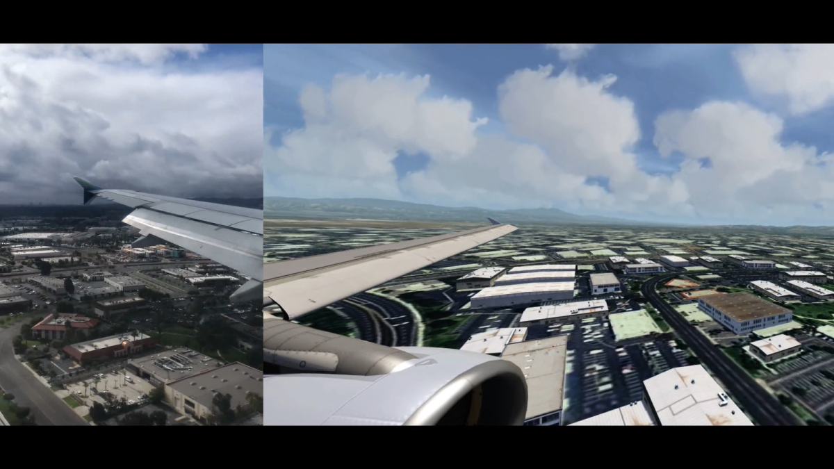 Aerofly vs Real Life