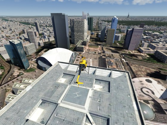 Paris 2.0 - Landing on Grande Arche