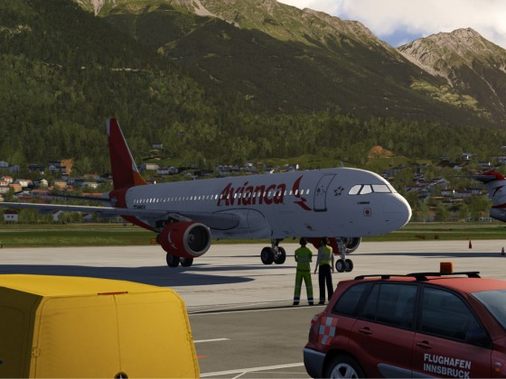 Extremely clear weather in innsbruck today!!