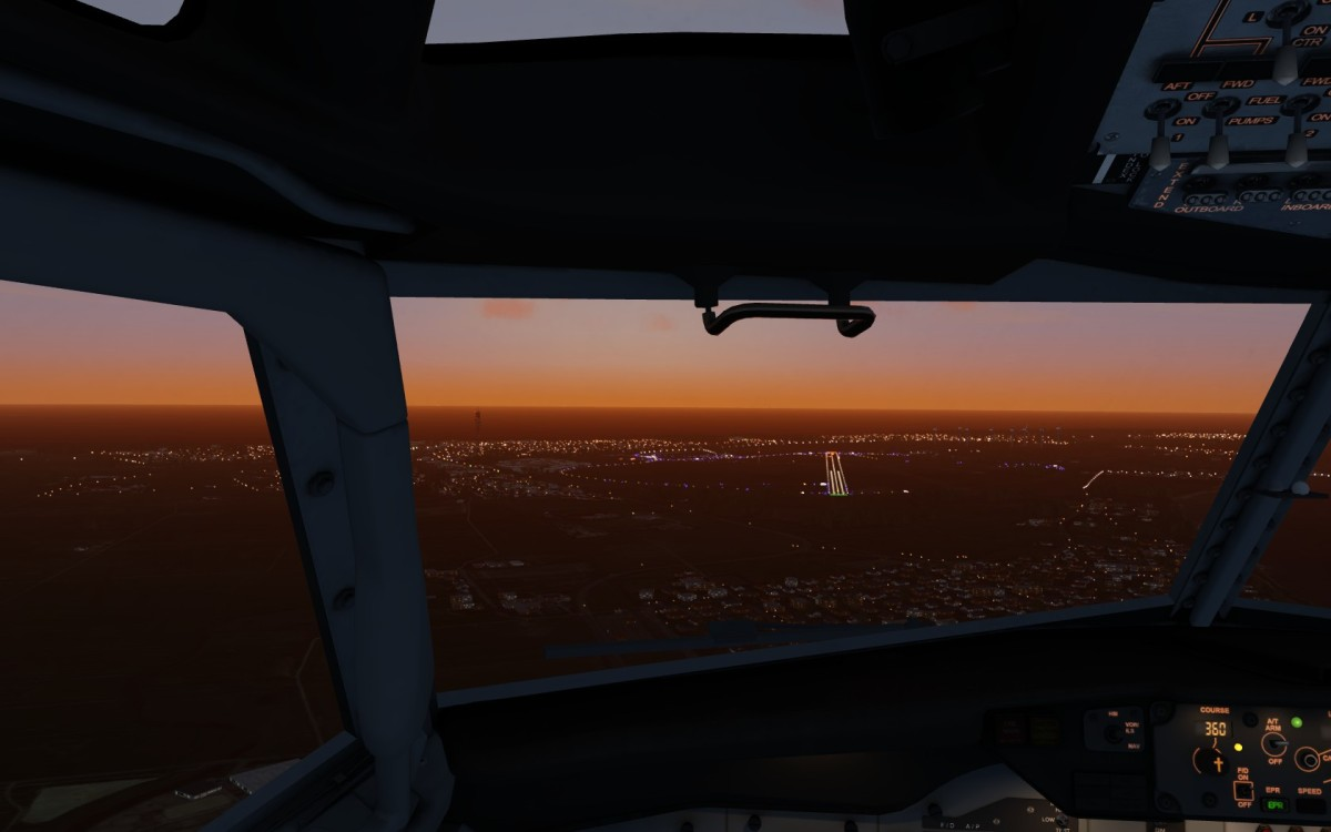approach by Night EDXW