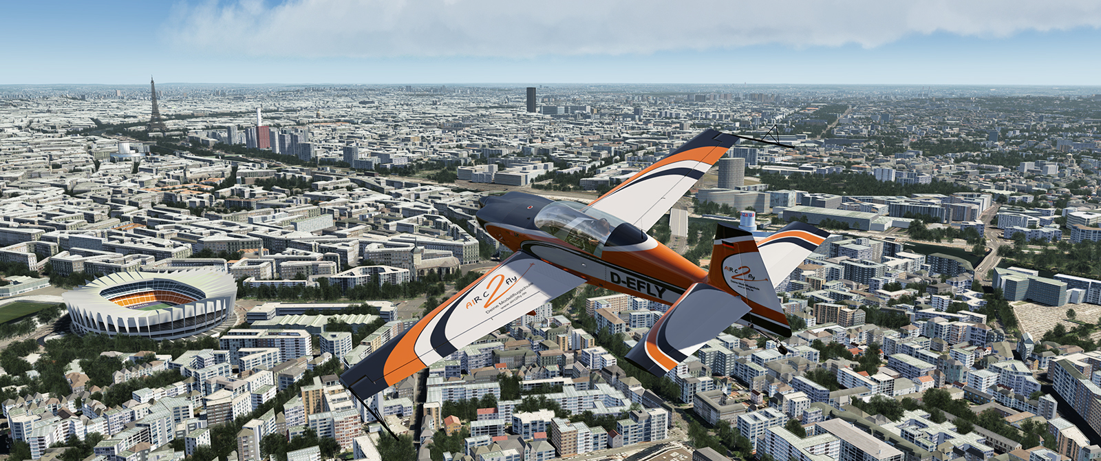 Paris France VFR preview
