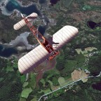 Finally airborne over Norway ....
