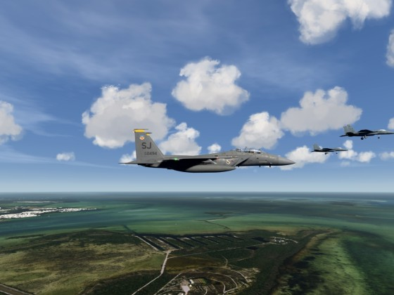South Florida Life - Key West - Training F-15 Strike Eagle