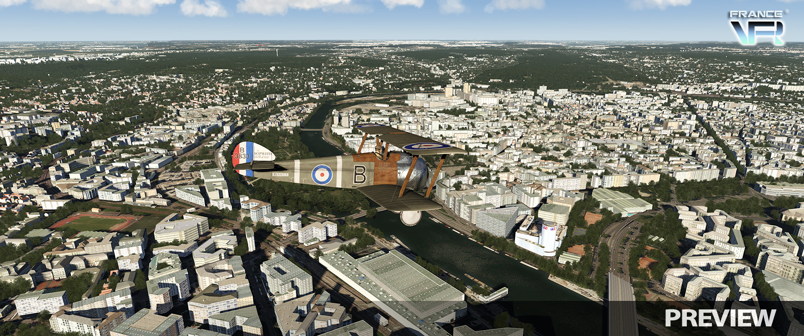 France VFR Paris IDF Preview