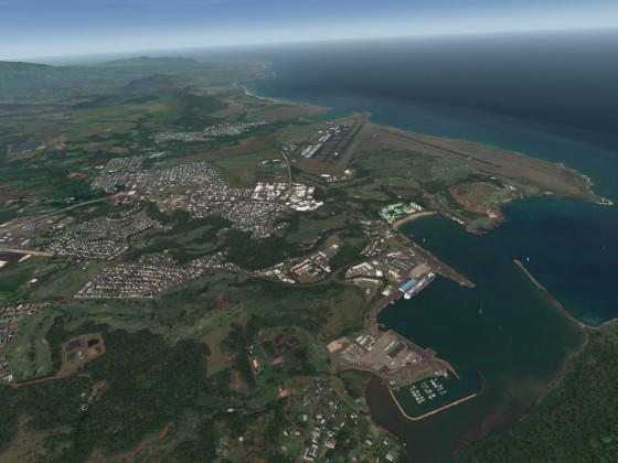 Hawaii Islands - Kauai - Lihue - No it's not Google Earth :-)