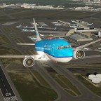 737 climb out of Schipol