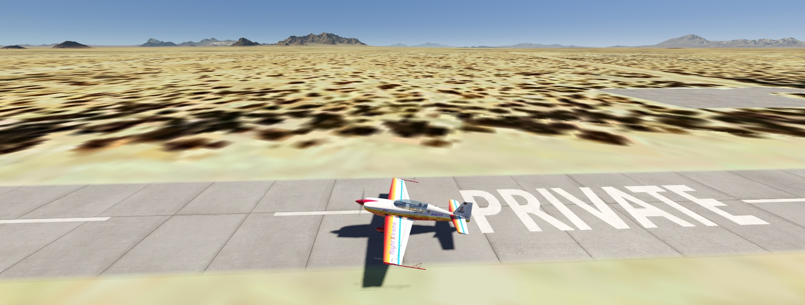 Private airstrip in Arizona - ooops