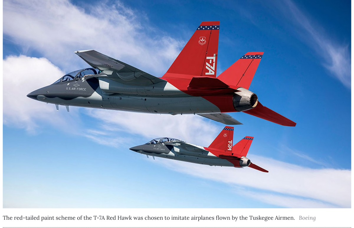 New Air Force Advanced Trainer