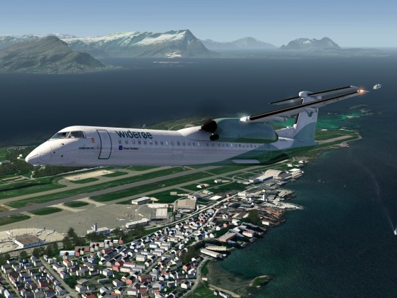 Norway - (ENBO)Bodo Airport - ''Dash-8 Q400 Widerøe''