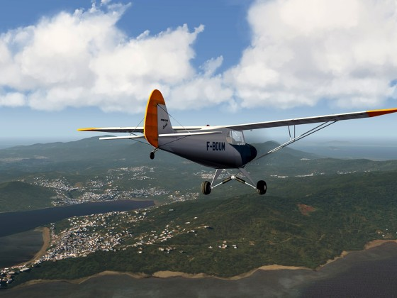 Mayotte-Comores Islands+Piper Cub
