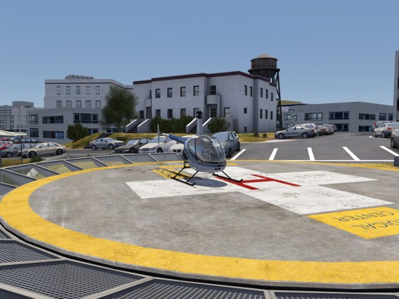 Robinson R22 @ San Francisco VA Medical Center