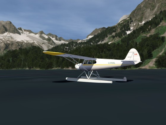 My first water landing - Near Squamish, BC, Canada