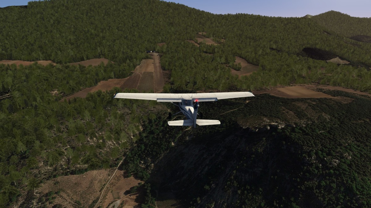 Could somebody help me to cut trees on the right of runway ?