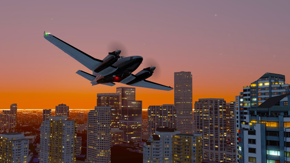Miami City area+Beech KingAir