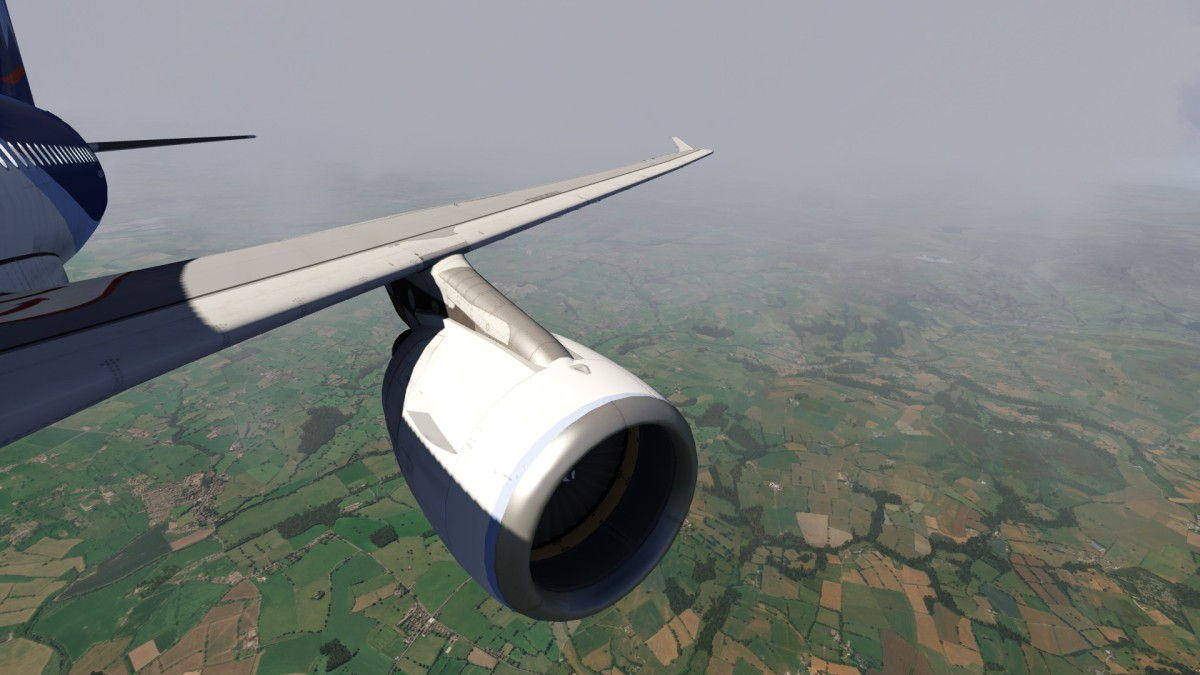 A320 shoulder view