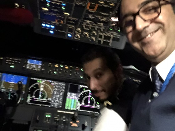 When you fly on 45,000 ft only Gulf Stream can do it