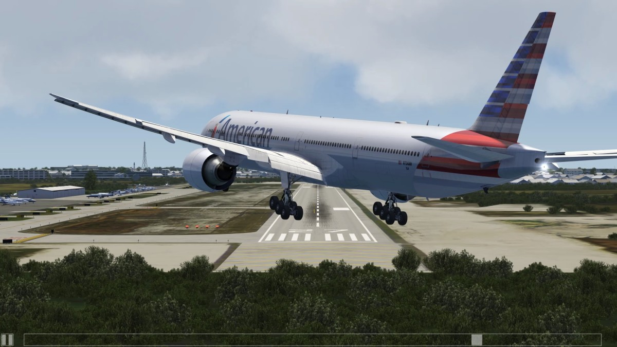 Max Crosswind Landings at Key West - Boeing 777s - All Liveries in Aerofly FS 2