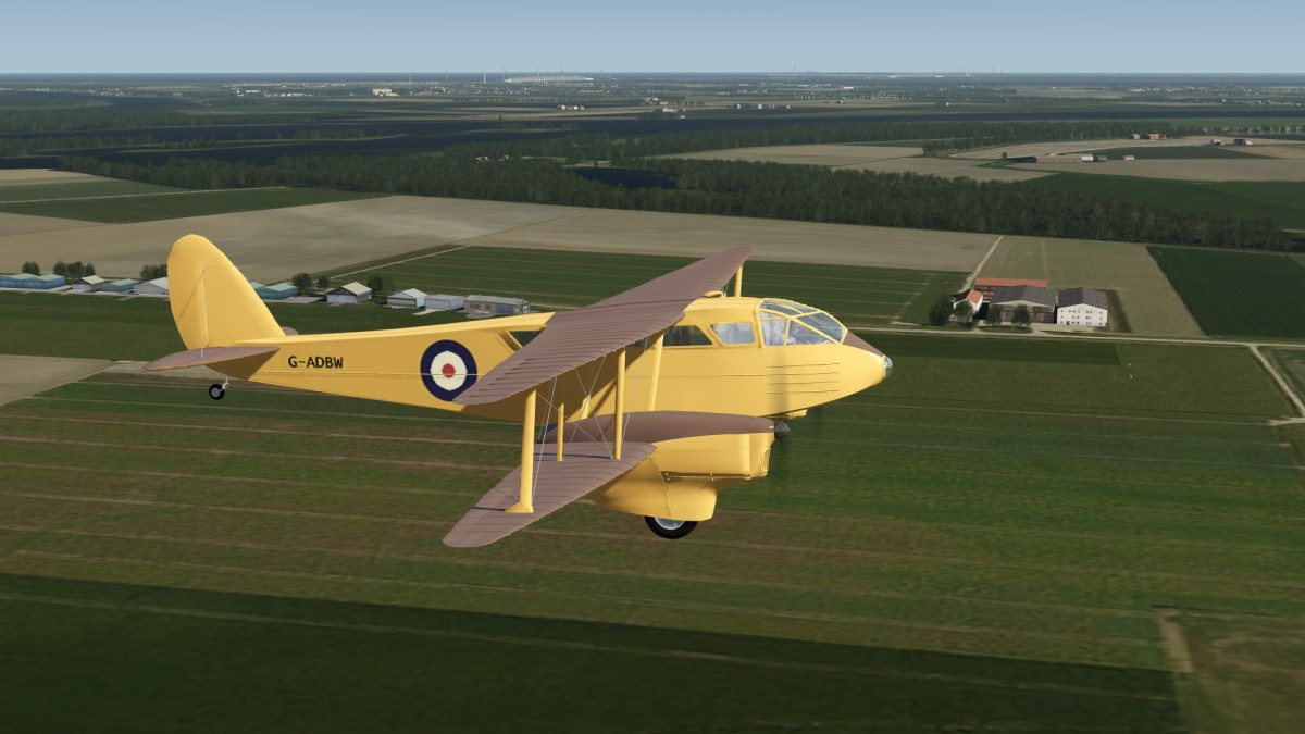 DH Rapide Circuits at Midden