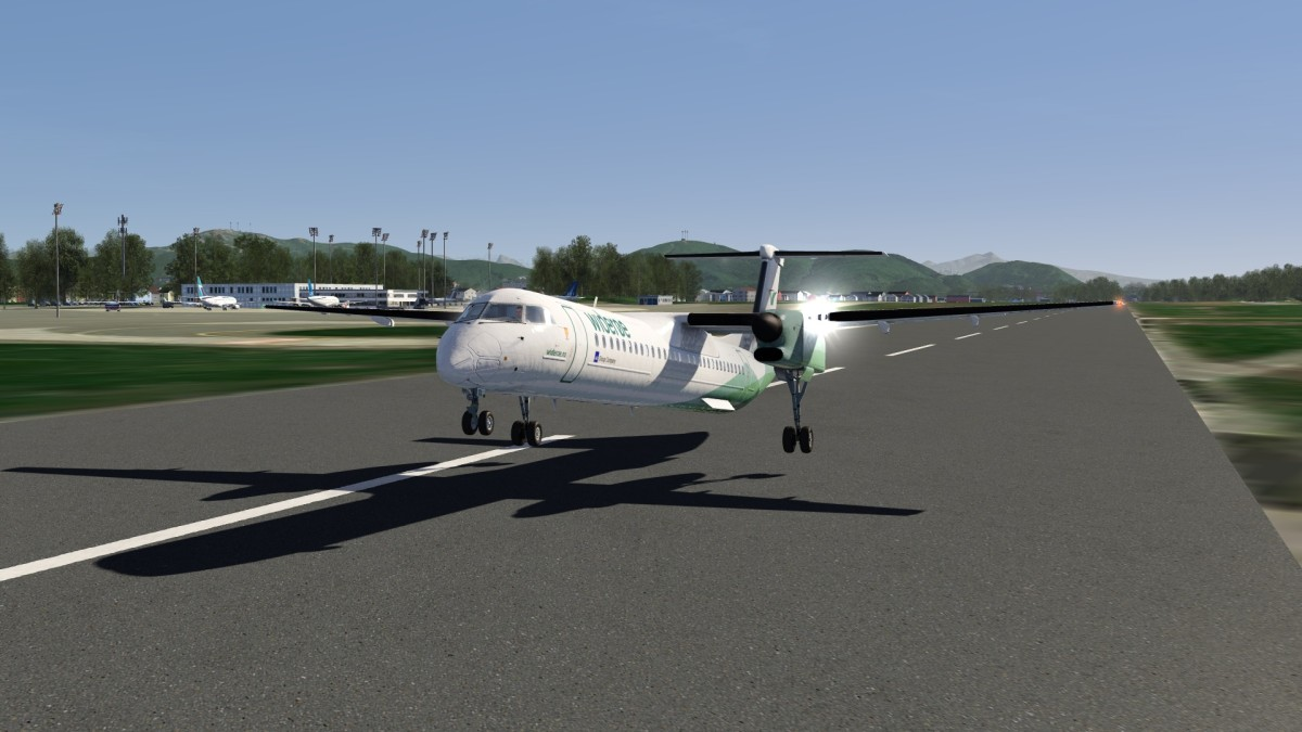Norway - (ENBO) Bodo Airport - ''Dash-8 Q400 Widerøe''