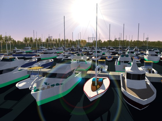 Marina - Boats are ready to go