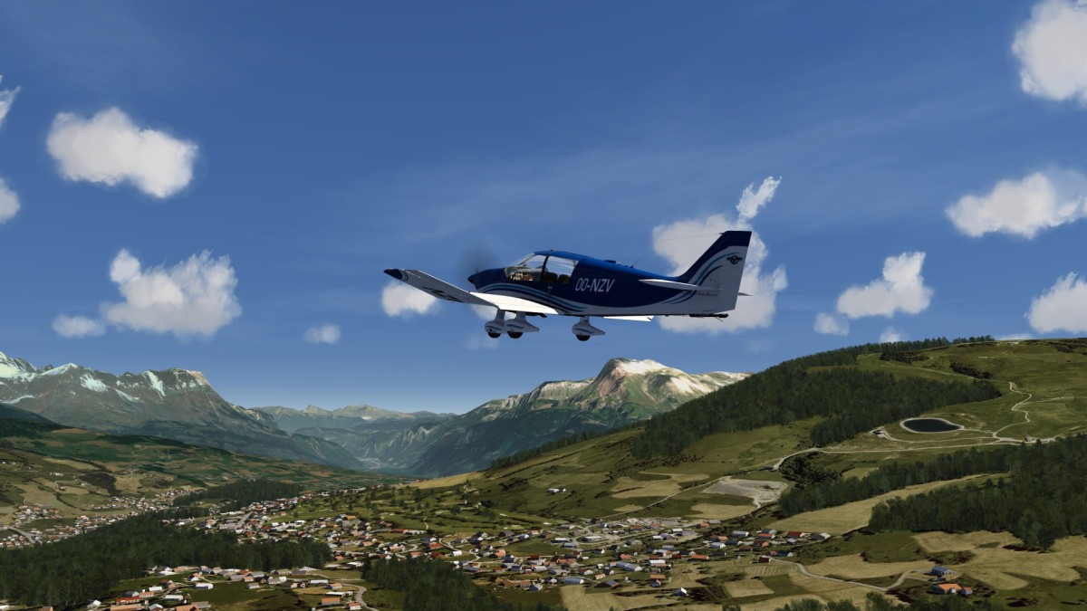 DR over French Alps 3