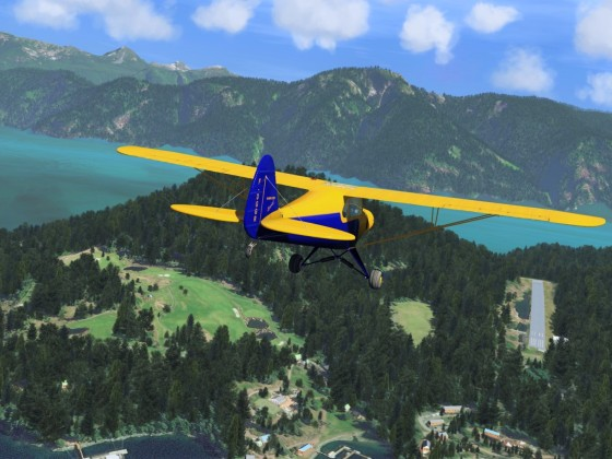 Pacific Northwest Big Bay Water Aerodrome