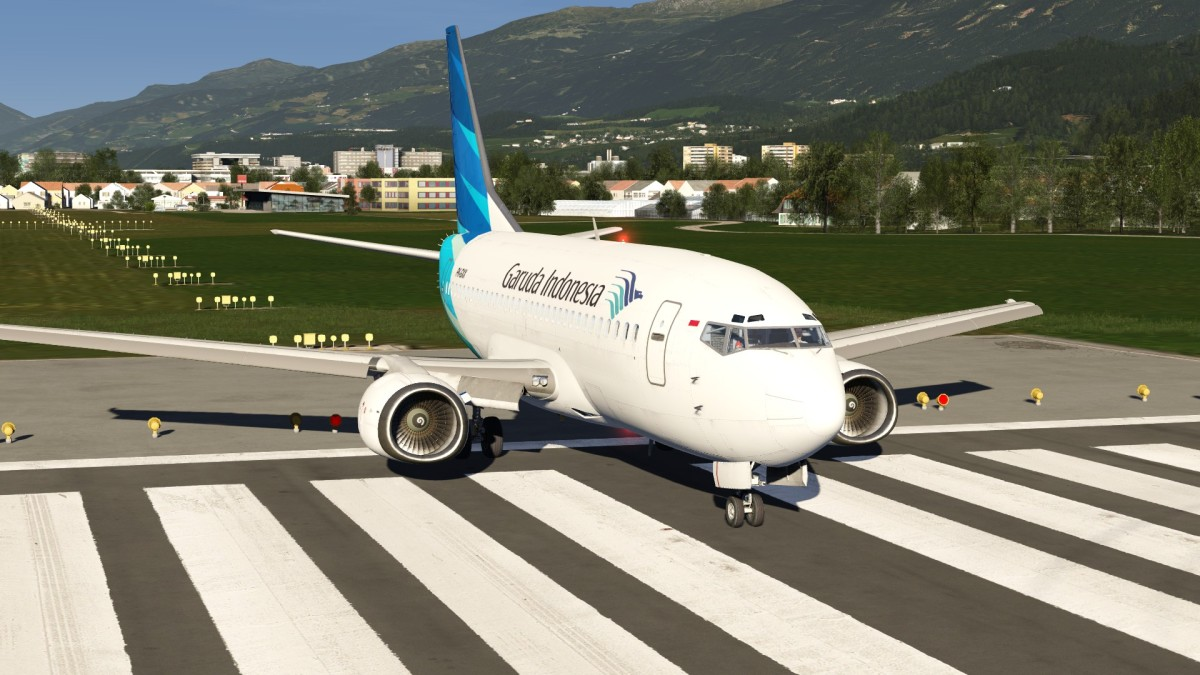 737 at Innsbruch Ready to Roll