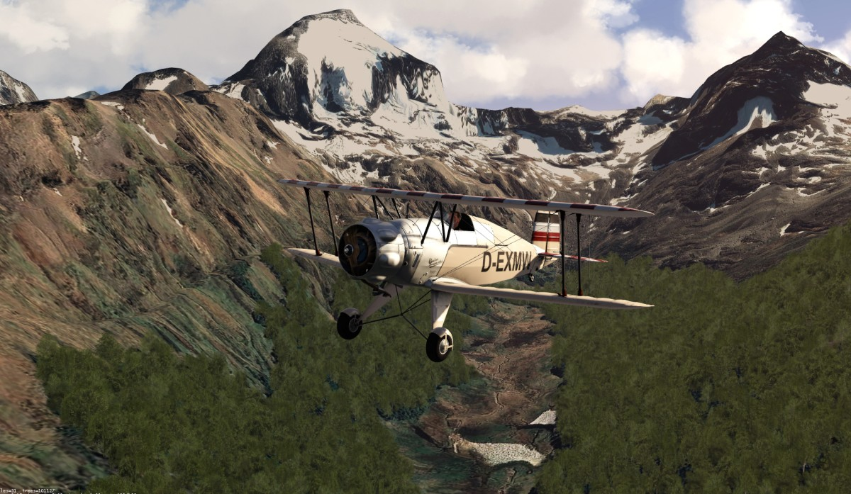 Ushuaia / Andes with 30m Mesh