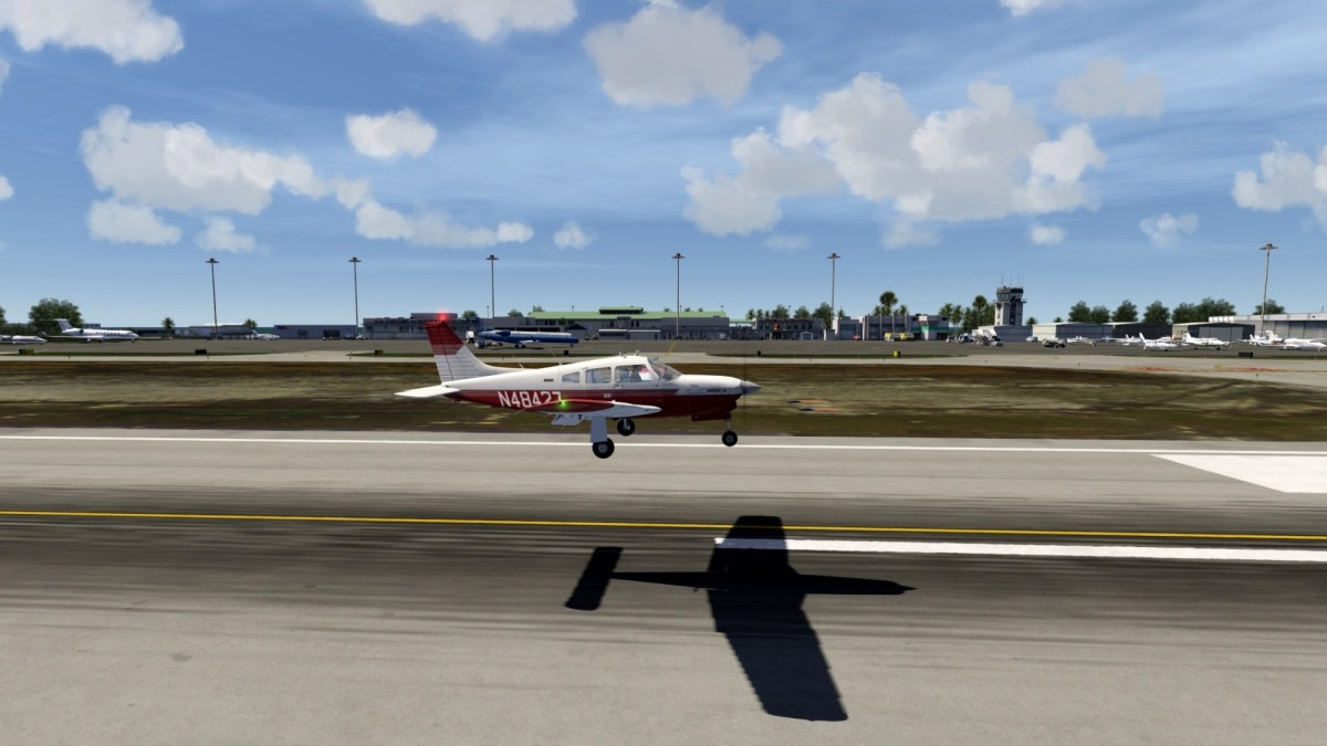 Life moves in Key West - Turbo Arrow III