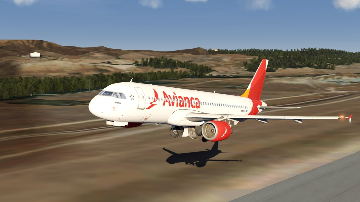 A320 Madrid Gear Tuck time