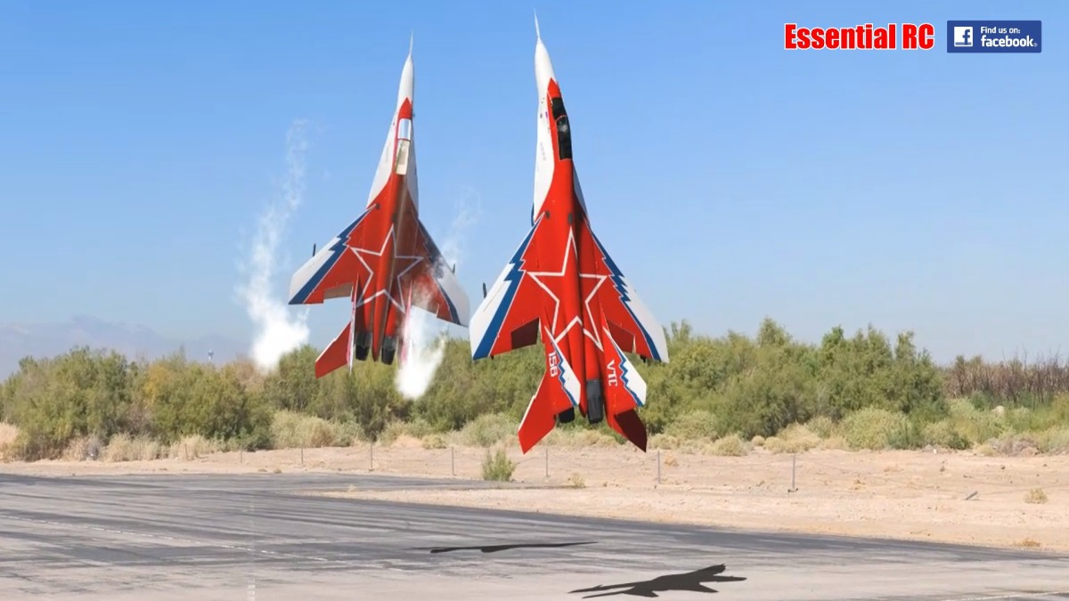 Russian Mikoyan MiG-29 Formation Duo