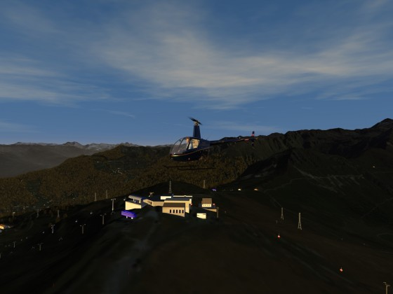 Alpine scenery Croix de Coeurs *** avaible now on flight-sim.org ***