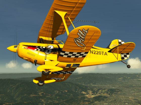 Pitts Special in California