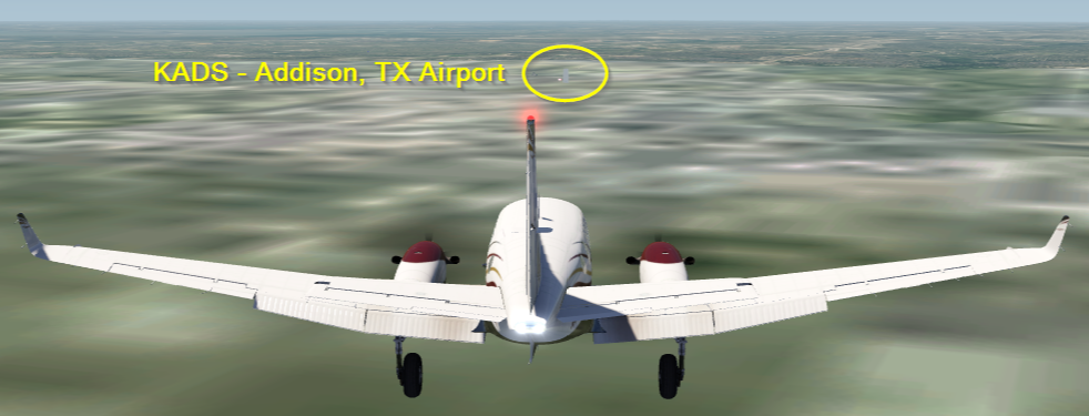 Photo Story - adding scenery & cultivation to an airport in