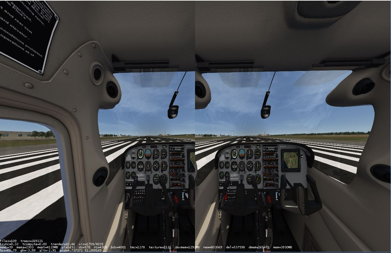 Good news: I almost achieved 90 FPS with Orbx TrueEarth